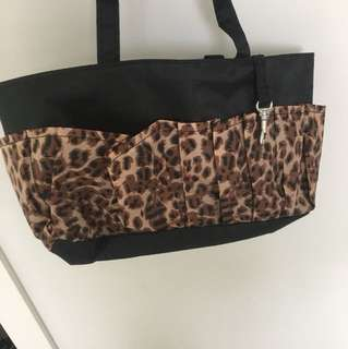 Makeup and makeup brush bag