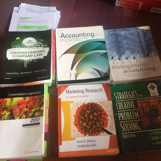 Uni textbooks