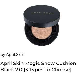 [Clearance] -  April Skin Magic Snow Cushion 2.0