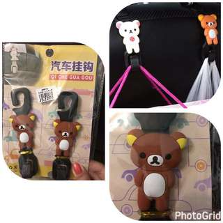 🎉(包平郵) Cute Bear Car Seat Hook $15 - by post only 📮