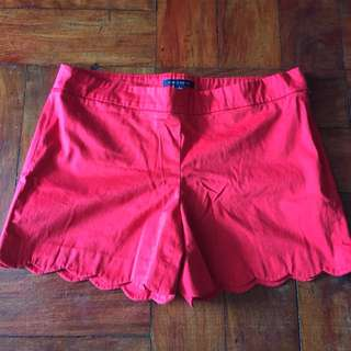 Red shorts for 2