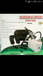 BNIB airbrush set with cleaning pot
