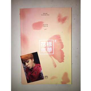 BTS The Most Beautiful Moment In Life Pt. 2 Album + Jimin Photocard