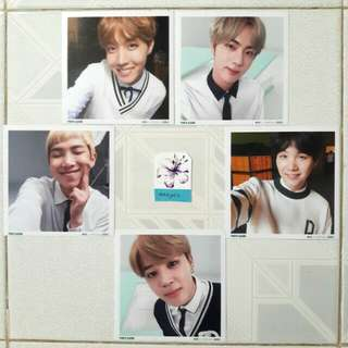 BTS 3rd MUSTER ticket album polaroid