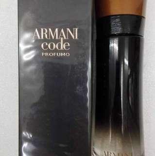 Authentic Armani Sport Code 100ml