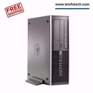 HP Elite 8300 SFF Business PC Desktop Core i7-3770s 3rd Gen 4GB RAM 500GB HDD Win Pro