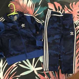 Toddler adidas track suit
