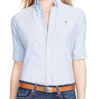 2 Ralph Lauren Slim fit Shirts - Size 6