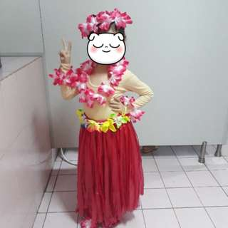 Grass Skirt (complete set)