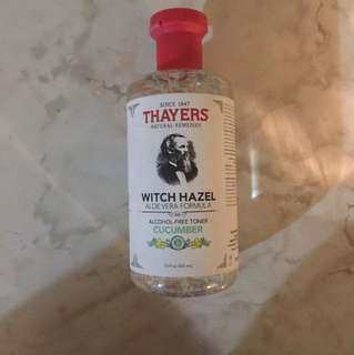 Thayer's Witch Hazel-cucumber