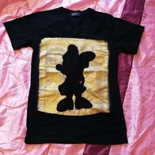 Minnie Mouse Cotton T-Shirt M Size