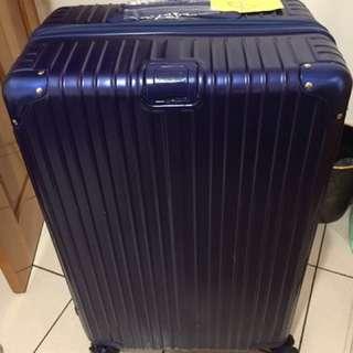 28吋藍色行李箱