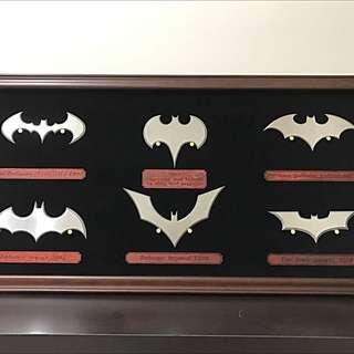 蝙蝠俠 歷代logo 飛鏢