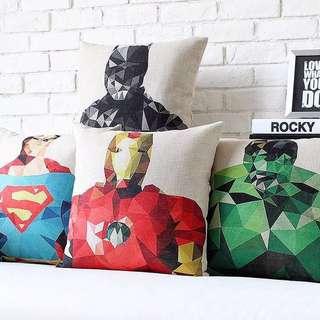 Super Heroes Cushion + Pillow 43*43cm