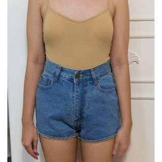BNEW High waist denim shorts