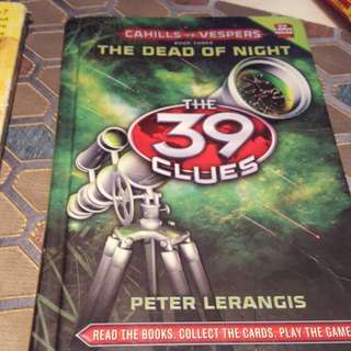 The dead of night the 39 clues