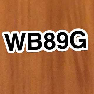 Car plate no WB89G