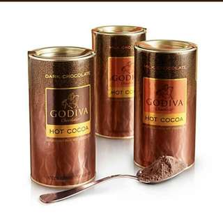 Godiva Assorted Hot Cocoa, Set of 3
