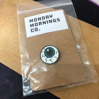 Enamel Pin - Eyeball