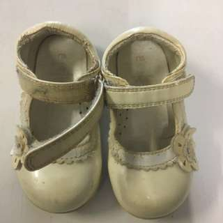 Mothercare girls baby shoes