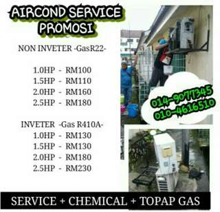 SERVICE AIRCOND RM100