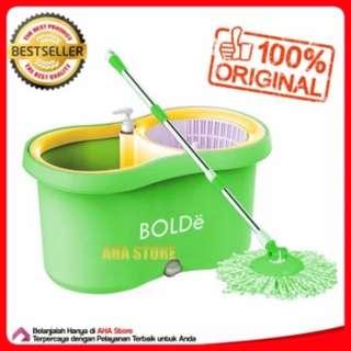 Bolde Super Mop M-169X+ (NEW) Pel Lantai - Hijau