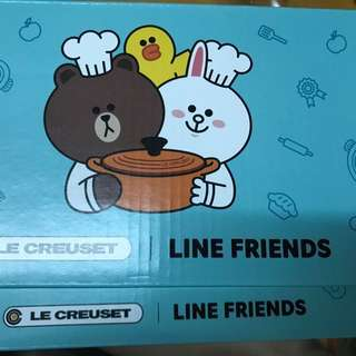 100%new &real 7-11 x LC x line friends 裝杯兩層木架