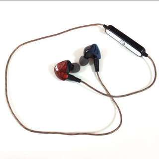 IEM Bluetooth Upgrade Cable - MMCX Connectors (Earphones NOT Included)
