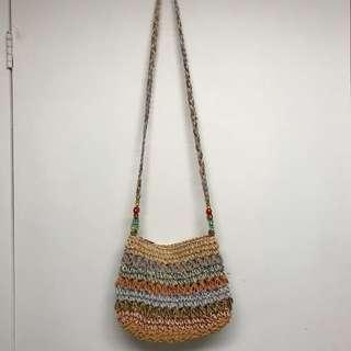 Mini basket crossover bag