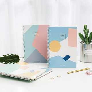 Scandinavia Spiral Ruled Notebook B5