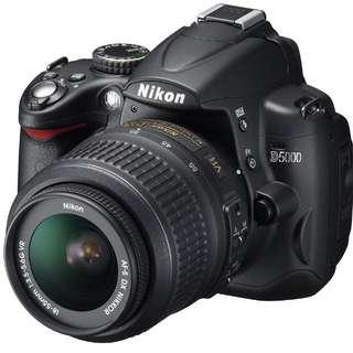Nikon D5000, Tawarkan harga Anda