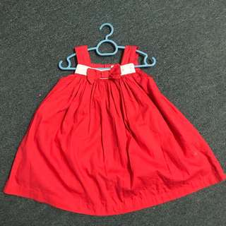 pumpkin patch red dress