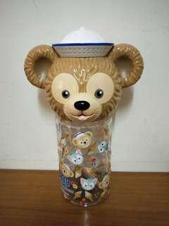 達菲大頭造型直飲水壺