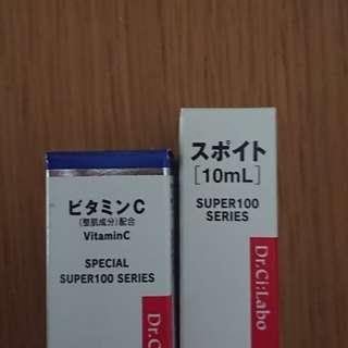 BNIB Dr.Ci:labo Vit C serum with dropper