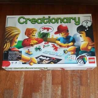 Lego Creationary Board Game