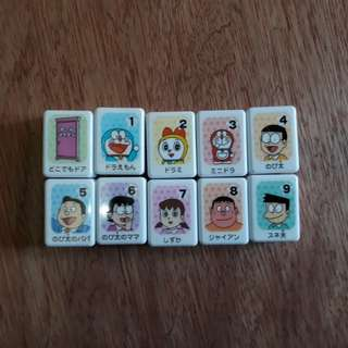 Doraemon mahjong set