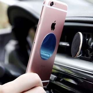 Car handphone magnetic holder air con IPhone Samsung Android phone stand