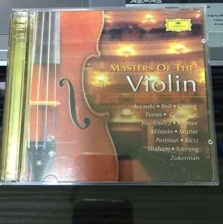 Master of the Violin CD album- 2 CD's