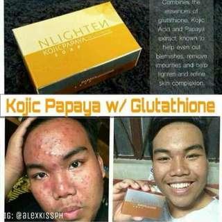 Nlighten Kojic Soap w/ Glutathione