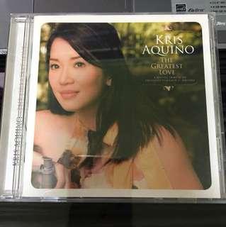 Kris Aquino - The Greatest Love CD Album