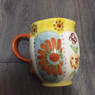 Anthropologie sunflower cup
