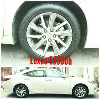Tyre 215/55 R17 Membat on Lexus ES300h 🐕 Super Offer 🙋