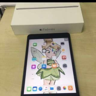iPad Mini 4, 128GB, WIFI with Apple Warranty