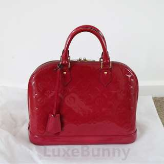 Under offer!Authentic Louis Vuitton Alma PM Indian Rose