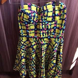 Brand new neon dress