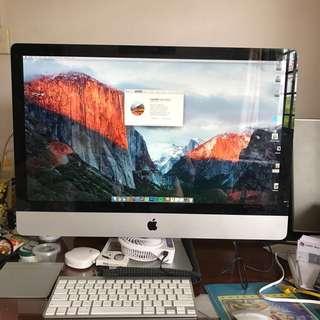 """iMac """"Core i7"""" 2.93 27-Inch Aluminum Customised !!"""