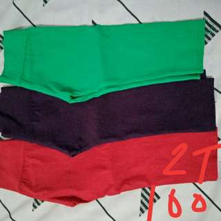 Colored pants set