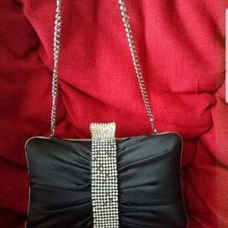 Black diamond clutch
