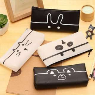 🌹 [INSTOCK] animal cute pencil case
