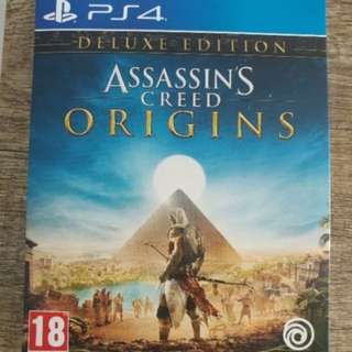 Assassin creed origin deluxe edition ps4